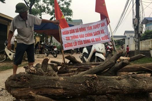 Các nhà quan sát tại Việt Nam cho rằng thông tin về vụ việc Đồng Tâm bị kiểm soát chặt chẽ.