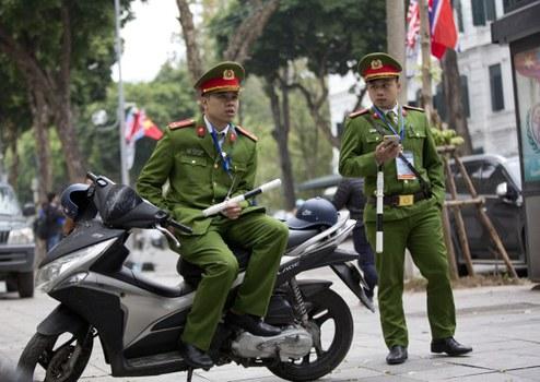 Ảnh minh họa. Công an Việt Nam ở Hà Nội. Hình chụp ngày 27/2/2019.