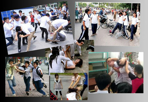 school violence in vietnam Vietnamnet bridge – it is tough to believe, and tougher to stomach, but school violence has become an everyday occurrence in our society.