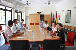 Các blogger làm việc với đại diện sứ quán Đức. Mạng lưới Blogger VN