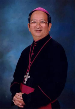 Đức Tổng Phaolô Bùi Văn Đọc, tân Chủ tịch Hội đồng Giám mục Việt Nam. Courtesy nuvuongcongly.