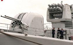 Tàu Hải quân Trung Quốc trên Biển Đông trước đây. AFP PHOTO.
