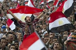 Người Ai Cập nổi dậy đòi lật đổ chính phủ của Tổng thống Hosni Mubarak