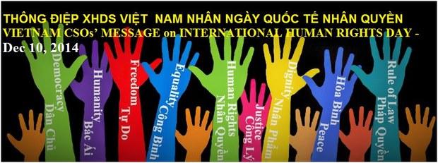 Ngày Nhân quyền Quốc tế 10-12-2014