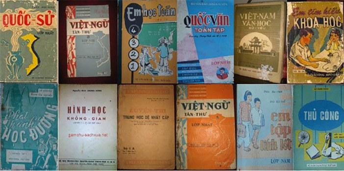Sách giáo khoa thời Việt Nam Cộng Hòa