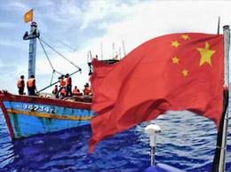 Tàu Trung Quốc ngang nhiên chặn bắt tàu cá Việt Nam