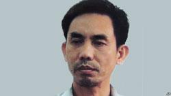 Tiến sĩ Nguyễn Quốc Quân, một công dân Mỹ gốc Việt đang bị tạm giam ở Việt Nam. AFP photo