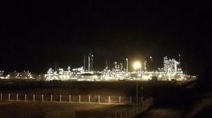 Khu kinh tế Dung Quất, chủ yếu chỉ tập trung nhà máy lọc dầu