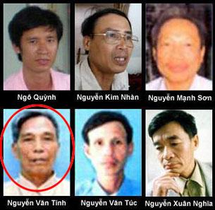 Ông Nguyễn Văn Tính bị kết án ba năm rưỡi tù giam ngày 9 tháng 10 năm 2009. RFA file
