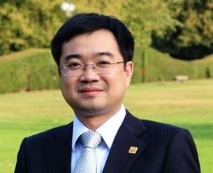 Ông Nguyễn Thanh Nghị hiệu phó trường Đại học Kiến trúc thành phố Hồ Chí Minh