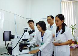 Phòng nghiên cứu, thí nghiệm của đại học Y Dược TPHCM. (minh họa)