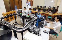 Phòng thí nghiệm trọng điểm của ĐH Quốc gia TP.HCM - Photo: Nhu Hung/TTre