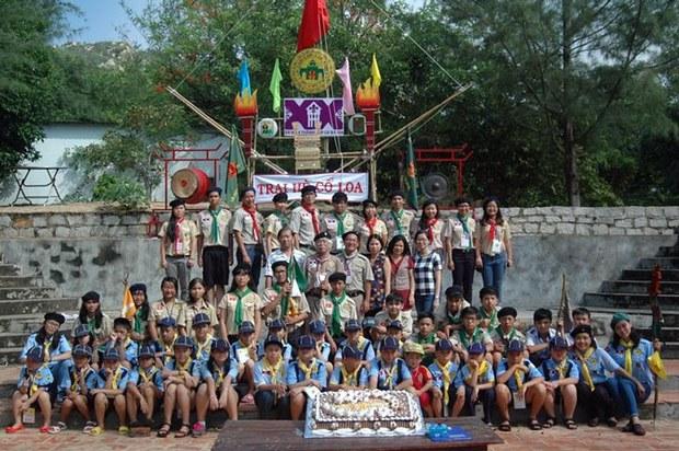 Tại hè Cổ Loa 2015. Đạo Sài Gòn từ 28 tháng 6, 2015 tại đèo Nước Ngọt Bà Rịa