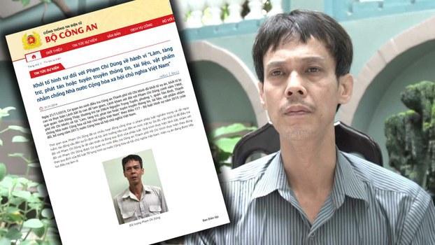 Tiến sĩ Phạm Chí Dũng, Chủ tịch Hội Nhà báo Độc lập Việt Nam bị bắt giam ngày 21/11/19.