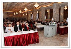 Một buổi Hội thảo về quảng trị tại trường Đại học Assumption ABAC Thái Lan hôm 19/11/2012. Courtesy ABAC.