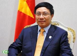 Bộ trưởng Bộ Ngoại giao Phạm Bình Minh