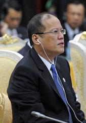 Tổng thống Benigno S. Aquino tại Hội nghị cấp cao Đông Á lần thứ 7 (EAS) tại thủ đô Phnom Penh hôm ngày 20/11. AFP