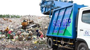Một bãi rác gây ô nhiễm, ảnh minh họa