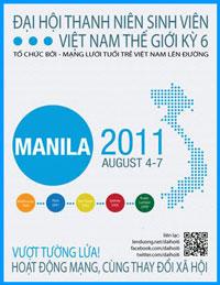 Giới thiệu Đại hội Thanh niên Sinh viên Việt Nam Thế giới lần sáu. Source lenduong.net