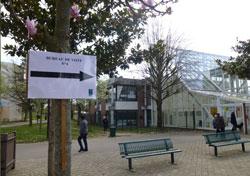 Một địa điểm bầu cử Hội đồng Địa phương hôm 23/3/2014. RFA PHOTO/Tường An.