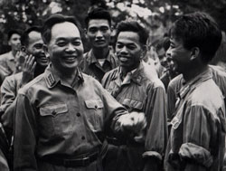 Tướng Võ Nguyên Giáp, ảnh chụp ngày 13 tháng 9 năm 1968. AFP PHOTO.
