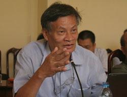 TS Nguyễn Quang A, ảnh minh họa chụp trước đây.