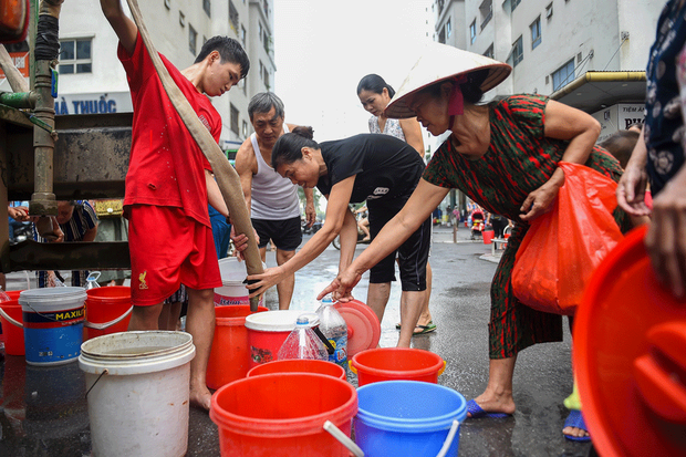 Những bất cập về nguồn nước ở Việt Nam