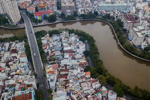 Hình minh hoạ. Hình chụp hôm 19/10/2018: kênh Xuyên Tâm ở thành phố Hồ Chí Minh