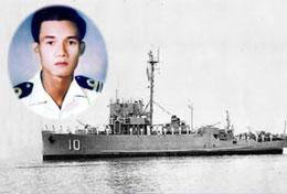 Cố Thiếu tá Hải Quân Ngụy Văn Thà, Hạm trưởng Hộ tống hạm Nhật Tảo HQ 10, hy sinh vì tổ quốc trong trận hải chiến Hoàng Sa năm 1974.RFA files