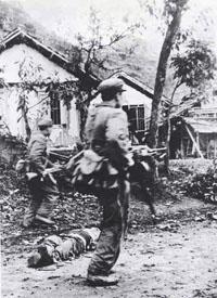 Quân đội Trung Quốc tràn vào Cao Bằng Lạng Sơn năm 1979. Source DSWC China
