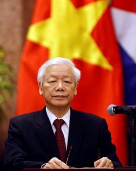 Hình minh hoạ. Tổng bí thư kiêm Chủ tịch nước Nguyễn Phú Trọng