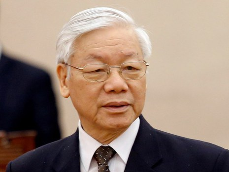 Tổng Bí thư kiêm Chủ tịch nước Nguyễn Phú Trọng phát động chiến dịch chống tham nhũng tại Việt Nam.