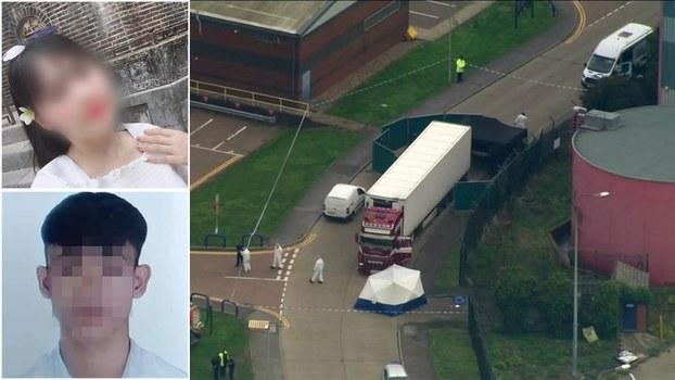 Hình minh họa. Những người nghi là nạn nhân vụ 39 lao động Việt thiệt mạng trong xe container chở lậu vào Anh hôm 23/10/2019.