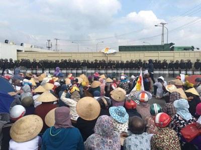 Cuộc biểu tình chống Formosa vào sáng Chủ Nhật 2 tháng 10 năm 2016 quy tụ hơn 10 ngàn người được người dân cả nước xem là một cuộc cách mạng của người dân Kỳ Anh Hà Tĩnh. Citizen photo.