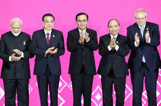 Lãnh đạo một số quốc gia tham dự thảo luận về RCEP tháng 11 năm 2019 tại Thái Lan