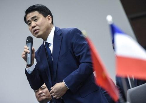 Chủ tịch Thành phố Hà Nội Nguyễn Đức Chung