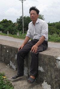 Ông Đoàn Văn Vươn, ảnh chụp trước đây. Courtesy ĐSPL.
