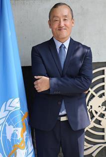 Ts. Kidong Park, Trưởng Đại diện Tổ chức Y tế Thế giới tại Việt Nam. Ảnh: WHO