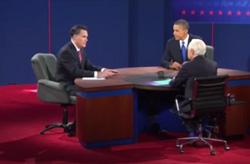 Ứng cử viên Mitt Romney phát biểu - Screen capture