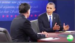 Ứng cử viên Barrack Obama phát biểu - Screen capture