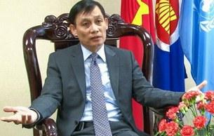 Đại sứ Việt Nam tại LHQ Lê Hoài Trung