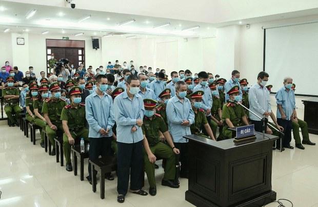 Vì sao các phiên phúc thẩm tù chính trị tại Việt Nam hiếm khi giảm án?