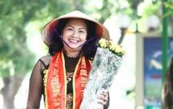 Bà Bùi Thị Minh Hằng. Photo courtesy of nuvuongcongly