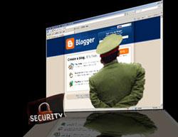 Công an thường xuyên kiểm soát và theo dõi các trang blog. RFA