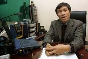 ông Nguyễn Hữu Vinh, người sáng lập trang blog Basam
