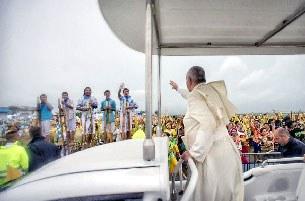 Philippines: 6 triệu người dự thánh lễ của Đức Giáo Hoàng, ngày 18 tháng 1, 2015