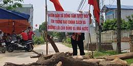 Nông dân Đồng Tâm đương đầu với cưỡng chế đất