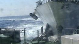 Tàu hải giám TQ đâm thẳng vào tàu Cảnh sát biển Việt Nam (Nguyentandung.org)
