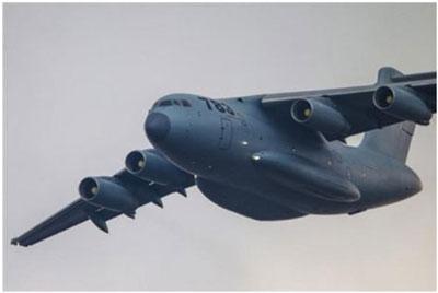 Trung Quốc đang phát triển máy bay vận tải cỡ lớn Y-20.