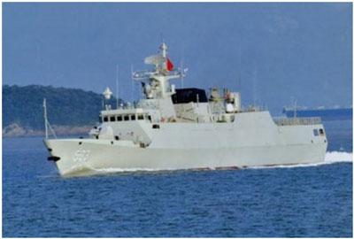 Tàu hộ vệ hạng nhẹ Type 056 Hải quân Trung Quốc.